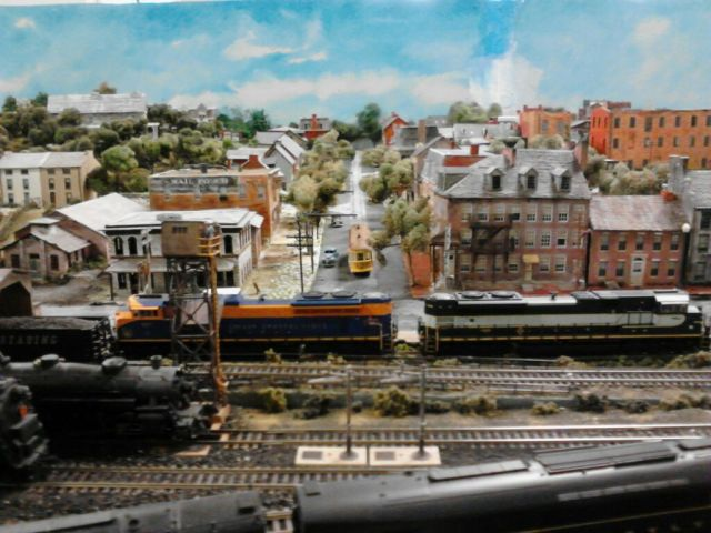 CHPS Train Display 12