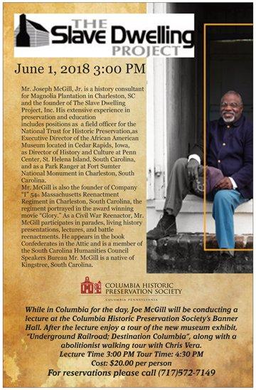 Slave Dwelling Project June 1 2018