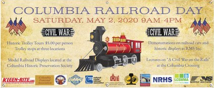 2020 Columbia Railroad Day Banner