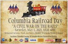 Columbia Railroad Day 2021