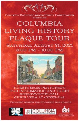 CEDC Living History Plaque Tour